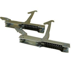 Coppia cerniere 155x19mm porta forno da 90 centimetri per Smeg by MarelShop®