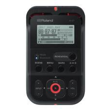 Roland R-07-BK High-Resolution Audio Recorder R-07 Black New