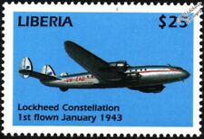 Qantas Empire Airways (QEA) LOCKHEED CONSTELLATION L749-79 Connie Aircraft Stamp