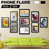 Bilderrahmen 22 Farben mit Rückwand und Acrylglas 40x141 bis 40x150 cm Foto