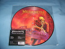 """MEGADETH PEACE SELLS BUT WHO""""S BUYING PICTURE DISC  VINYL  LP   BRAND NEW"""
