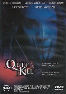 Quiet Kill DVD - Claudia Christian Rare Movie