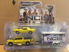 Greenlight Hollywood Diecast -NCIS - 2015 Ram 1500 & 1970 Dodge Challenger RT