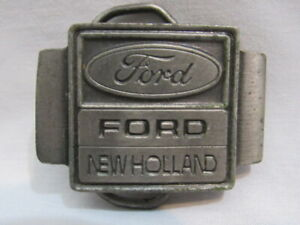 Original Vintage YOUTH Small FORD NEW HOLLAND BELT BUCKLE New Old Stock