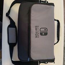 Official Nintendo Switch Messenger Bag Shoulder Bag Carry Travel Case Used