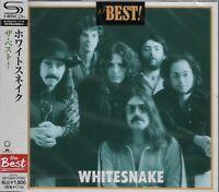 WHITESNAKE THE BEST RMST SHM CD JAPAN 2012 MINT W/OBI OUT OF PRINT JON LORD