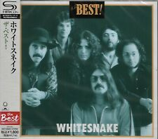 WHITESNAKE THE BEST RMST SHM CD JAPAN 2012 MINT W/OBI OUT OF PRINT JON LORD