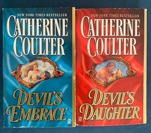 Catherine Coulter - Secondhand used books, Historical, Georgian- Devil's Duology