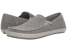 2018 NWOB MENS SANUK ROUNDER HOBO MESH SLIP-ON SHOES $65 9 grey