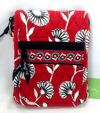 Vera Bradley Deco Daisy Mini Hipster Purse Handbag New Cross Body Red Flower