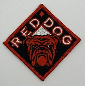 Red Dog Beer Racing NASCAR Vintage Style Retro Patch Sew Iron On Hat Cap Shirt