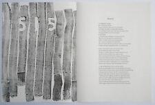 MICHAEL GOLDBERG lithographs 1967 IN MEMORY OF MY FEELINGS Frank O'Hara MOMA