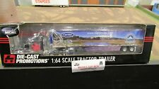 DCP#32620 CARRIER REEFER SALES IH PROSTAR SEMI TRUCK & REF VAN TRAILER 1:64/FC