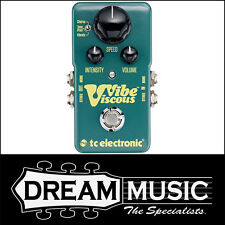 TC Electronic Viscious Vibe Vibrato Chorus Stereo Guitar Effects Pedal RP$289