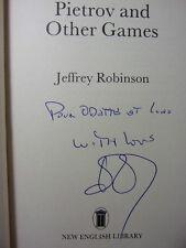 SUCCESSION LINO VENTURA / PIETROV AND OTHER GAME Jeffrey Robinson Envoi