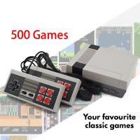 Built-In 500+ Games Mini TV Game Console NES Retro Classic Handheld Gaming