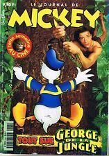 journal De MICKEY n° 2365 15 octobre 1997 revue magazine donald geoges jungle