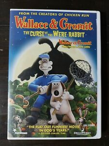 Wallace and Gromit The Curse Of The Were-Rabbit DVD FREE POST