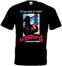 A Nightmare On Elm Street 4 v2 T-shirt black poster all sizes S...5XL