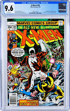 X-Men 109 cgc 9.6 White Pages