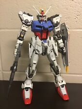 Assembled Painted 1/60 PG GAT-X 105 STRIKE GUNDAM - Model Kit [Bandai]