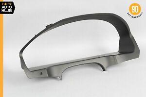 10-13 Mercedes W207 E350 Coupe Dash Speedometer Instrument Trim Bezel Black OEM
