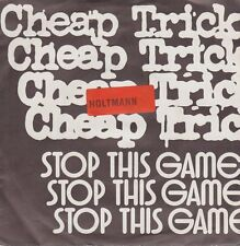 """Cheap Trick stop this game/OMS D 'King 80`s CBS Records 7"""" single"""