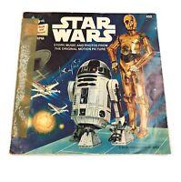 "Various spoken word 7"" vinyl p/s star wars ep - buena vista 450  usa 1979"