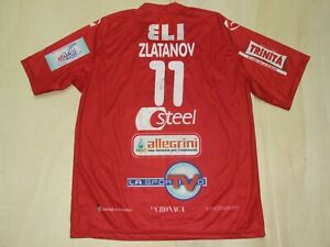 Shirt Maillot Volleyball Covers Piacenza Zlatanov 11 Signed Size L