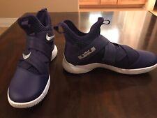 New Nike Lebron Soldier 12 Purple Sneaker Shoes Size 13