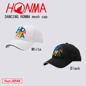 2021 HONMA Golf Japan DANCING HONMA mesh cap for Men's freesize(57-59) 21sp