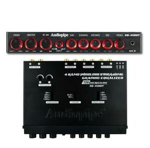EQ-450BT  Audiopipe Band Wireless Streaming Graphic Band Equalizer BRAND NEW