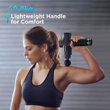 Lightweight Rechargeable Deep Tissue Massage Gun +case self care pain management