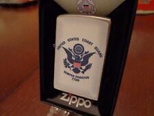 USCG US COAST GUARD SEMPER PARATUS 1790 ZIPPO LIGHTER MINT IN BOX 2013