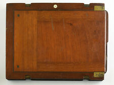 Bookform Timber Full Plate Holder with Half Plate Inserts