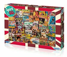 Gibsons spirit of the 60s - 1000 piece jigsaw puzzle, les beatles, z-cars & plus
