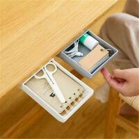 Creative Drawer Storage Box Hidden Paste Style Home Stationery Kitchen Storage
