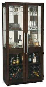 Howard Miller 690-038 Chaperone III Wine & Bar Cabinet - Espresso - 690038