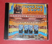 STONE THE CROWS-Ontinuous Performance -- CD/ROCK