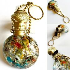 Antique Giacomo Franchini & Pietro Bigaglia Murano Murrine Glass Perfume Bottle