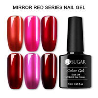 UR SUGAR 7.5ml Nagel Gellack Soak off Spiegel Metallisch Nail UV Gel Polish