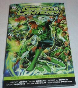 DC Green Lantern War of the Green Lanterns Hardcover