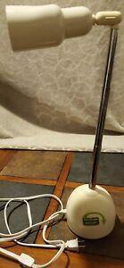 OttLite Craft Sewing Caddy Organizer Task Desk Adjustable Lamp White CDO-003 HTF