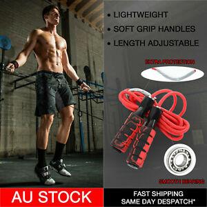 Clearance! Professional Adjustable Jump Rope Skipping Soft Foam Anti-Slip Handle