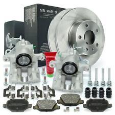 2x Bremssattel Bremszange + Bremsscheiben + Bremsbeläge hinten Alfa Romeo 147