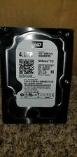 Western Digital 4TB black WD40EFRX SATA Hard Disk 64MB Cache WD NAS Internal