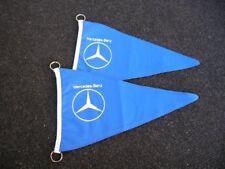 1 MERCEDES BENZ POLE FLAG VINTAGE CAR ACCESSORY MB 190 300 SL 500 600 PULMAN NOS