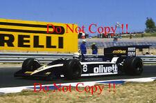 Elio De Angelis Brabham BT55 Spanish Grand Prix 1986 Photograph