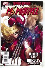 Ms. Marvel 42 2nd Series 2009 NM Sana Takeda Dark Reign Deadpool Spider-Man