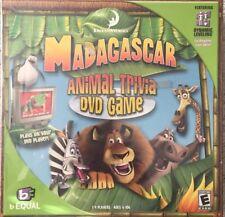 Madagascar Animal Trivia Dvd Game By Equal New